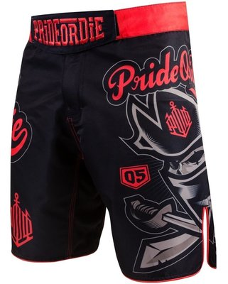 PRIDEorDIE MMA Fight Shorts NO RULES Vechtsport Kleding