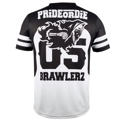 PRiDEorDiE T Shirts BRAWLERZ All Sports Dry Fit Tee