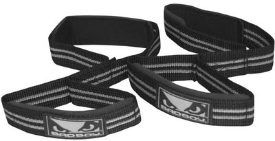 Bad Boy Double Loop Padded Lifting Straps