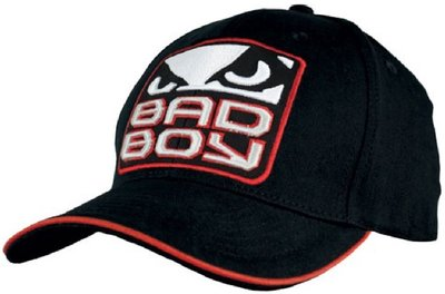 Bad Boy Logo Cap Black Red MMA Shop Nederland