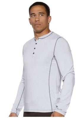 Tenacity Clothing The Henley moonlight longsleeve shirt