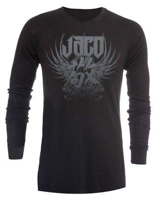 Tenacity Clothing Venerable V-Neck Thermal Black