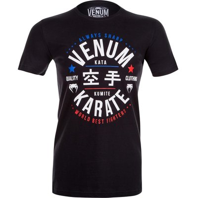 Venum Karate Champs T-Shirt Black Karate Kleding