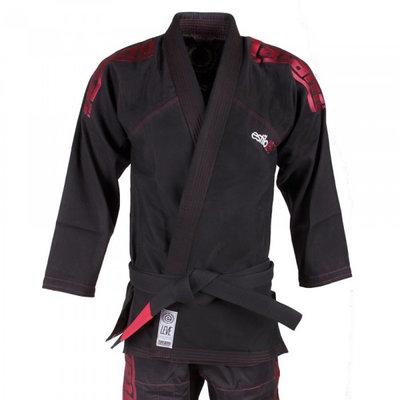 Tatami Estilo Leve Ultralight Black Red BJJ Gi Kimono