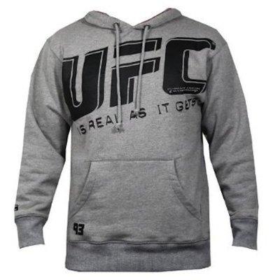 UFC Kleding Slant Hoody Grey only size S