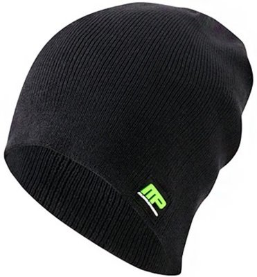 MusclePharm Sportswear MPA4 Slouch Beanie Logo MP Black