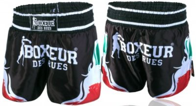 Boxeur Kick Muay Thai Shorts Tribal Symbols ITALY