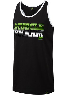 MusclePharm Sportswear Tanktop Stripe Logo MP