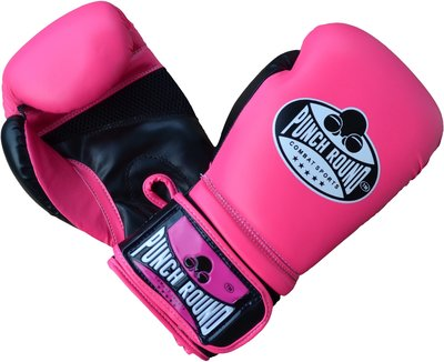 Dames Kickboks Handschoenen Neo Pink Punch Round™ Combat Sports