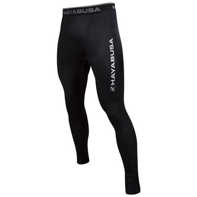 Hayabusa Haburi Compression Pants Spats Tights Black