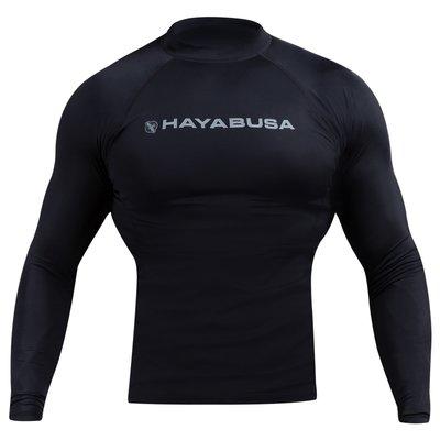Hayabusa Haburi 2.0 Rash Guard L/S Black Vechtsport Kleding