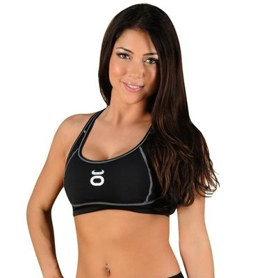 Tenacity Dames Topje Clothing Womens Sports Bra Black