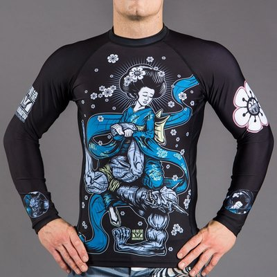 Meerkatsu Immaculate Footlock Rash Guard BJJ Fightwear Shop