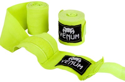 Venum Bandage 4m Neo Yellow Zwachtels Windels Hand Wraps