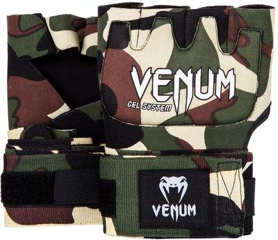 Venum Gel Kontact Gloves Wraps Forest Camo Binnen Handschoenen