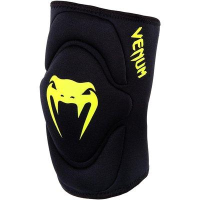 Venum Kniebescherming Kontact Lycra Gel Knee Pads Black Yellow