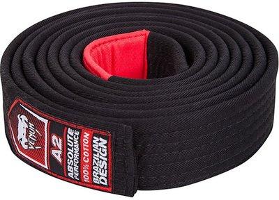 BJJ Gi Venum Belt Black Brazilian Jiu Jitsu