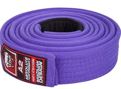 BJJ Gi Venum Belt Purple Brazilian Jiu Jitsu