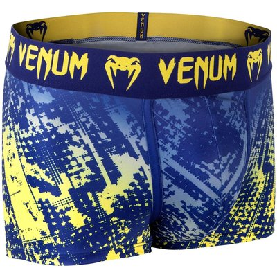 Venum Underwear TROPICAL Boxer Shorts Blue Yellow
