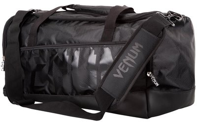 Venum Sporttas Sparring Sports Bag Black on Black Gym Bag