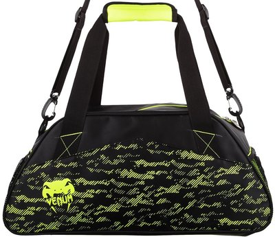 Venum Camo Line Gym Bag Black Neo Yellow Venum Sporttas