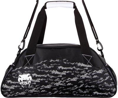Venum Camo Line Gym Bag Black White Venum Sporttas