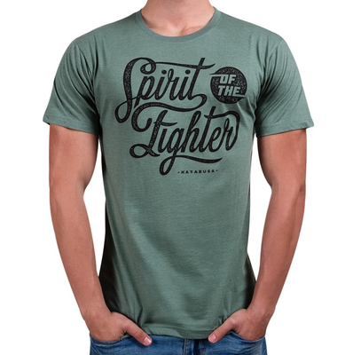 Hayabusa Spirit of the Fighter T Shirt Green
