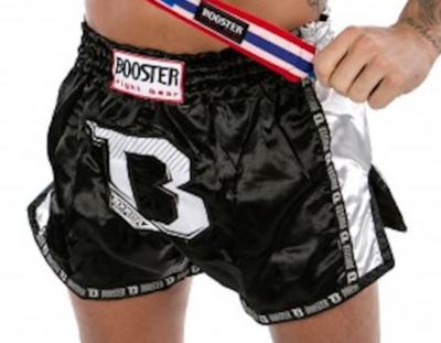 Booster Kickboks Broekjes TBT PRO Black White