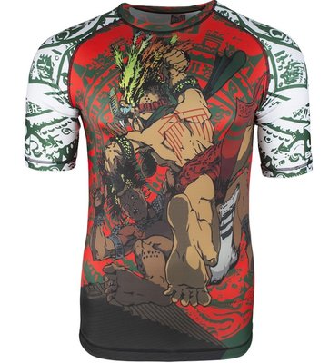 Bad Boy Warrior Society Rash Guard MMA Kleding