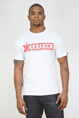 Kraken Fight Wear T shirt M4sK White size L