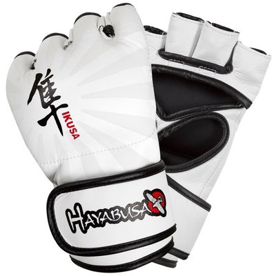 Hayabusa Ikusa 4oz MMA Gloves White MMA Handschoenen
