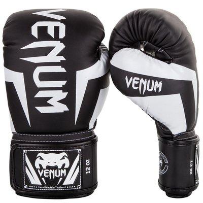 Venum Kickboks Handschoenen Elite Zwart Wit