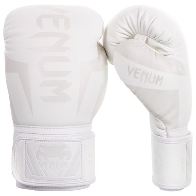 Venum Kickboks Bokshandschoenen Elite Wit Venum Fightgear