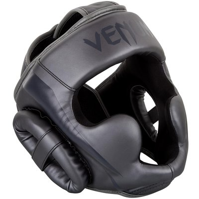 Venum Elite Headgear Hoofdbeschermer Grey Grey