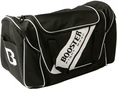 Booster Team Duffel Bag Training Sporttas Gym Bag Zwart Wit