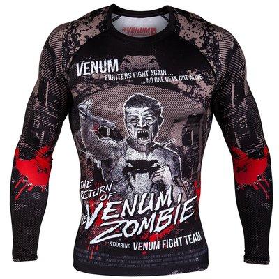 Venum Kleding Zombie Return Rashguard L/S Venum Fightshop Nederland
