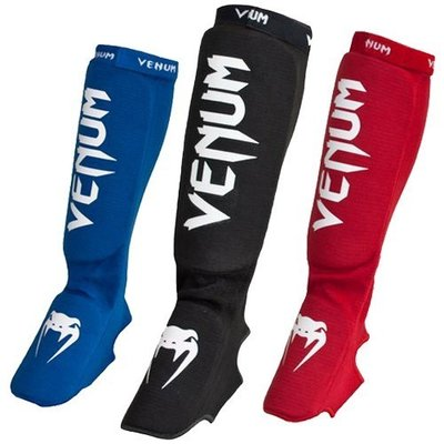 Venum Kontact Scheenbeschermers Shinguards with instep Cotton