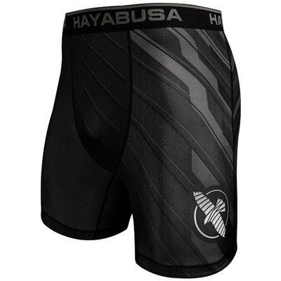 Hayabusa Metaru Charged Compression Shorts Black Grey