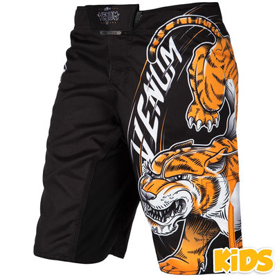 Venum Kleding Kids Tiger King Kids Fight Shorts Kickboks Winkel