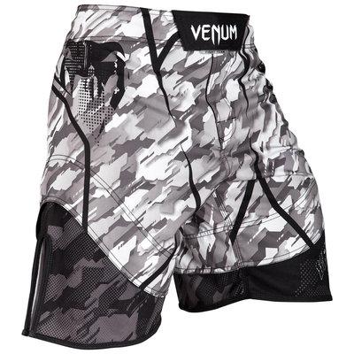 Venum Kleding Tecmo MMA Broek Shorts White Grey Venum Nederland