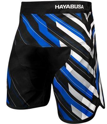 Hayabusa Metaru Charged Jiu Jitsu Fight Shorts Black Blue BJJ Kleding