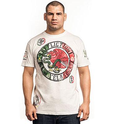 Affliction Cain Velasquez UFC 155 Walkout T Shirts White