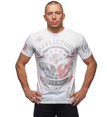 Affliction GSP Relentless MMA Kleding White