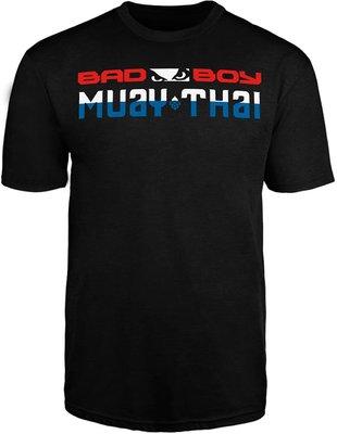 Bad Boy Muay Thai DISCIPLINE T Shirt Zwart Thaiboks Kleding