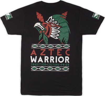 Bad Boy Aztec Warrior T Shirt Black Vechtsport Kleding