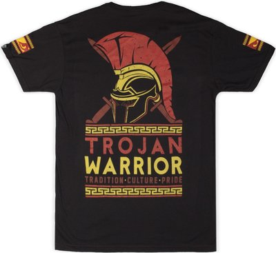 Bad Boy Trojan Warrior T Shirt Zwart Vechtsport T Shirts