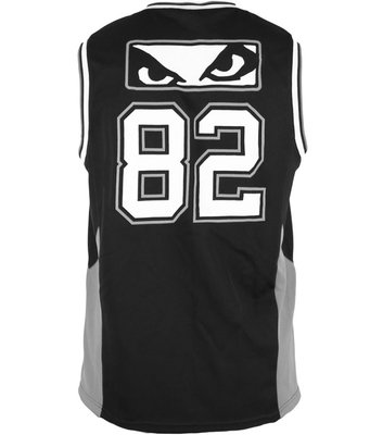 Bad Boy Jersey Tank Top Hemd Icon Zwart Grijs
