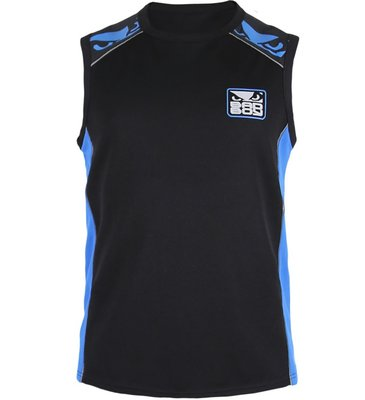 Bad Boy Jersey Tank Top Hemd Force Zwart Blauw