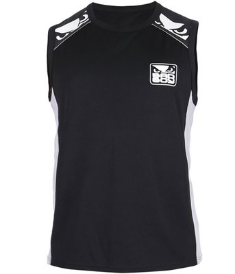 Bad Boy Jersey Tank Top Hemd Force Zwart Grijs