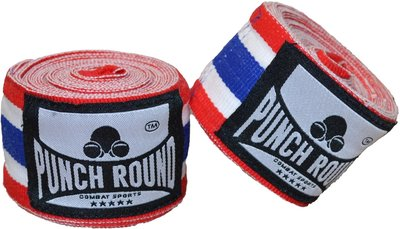 Punch Round™ Perfect Stretch Thai Flag Bandages 460 cm